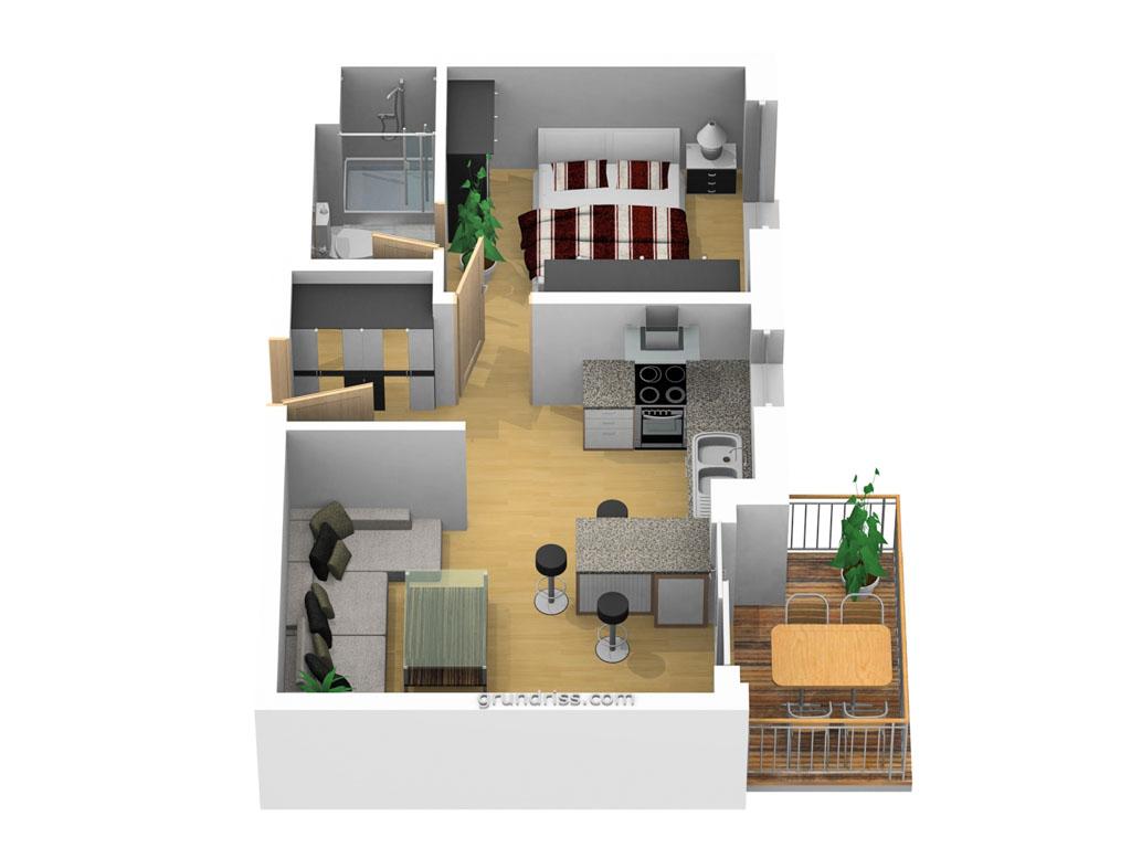 Dünenhaus Aurell Bansin Usedom Appartement 3