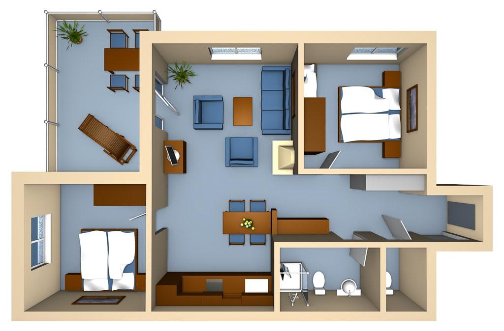 Strandhaus Aurell Fewo Typ 4
